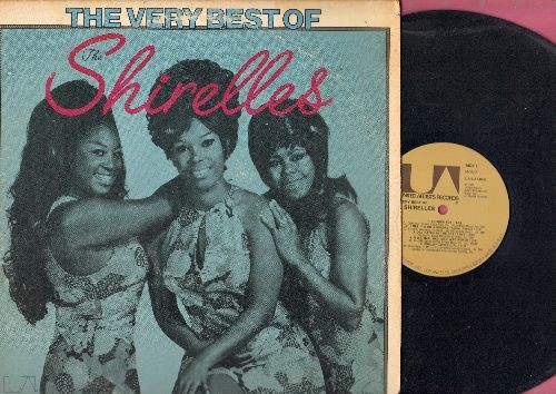 Shirelles - The Very Best Of: Soldier Boy, Foolish Little Girl, Mama Said, Baby It's You, It's A Mad Mad Mad Mad World (vinyl MONO LP record, 1975 issue of vintage recordings) - NM9/VG6 - LP Records
