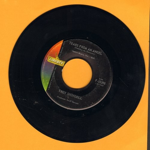 Shondell, Troy - Tears From An Angel/Island In The Sky - EX8/ - 45 rpm Records