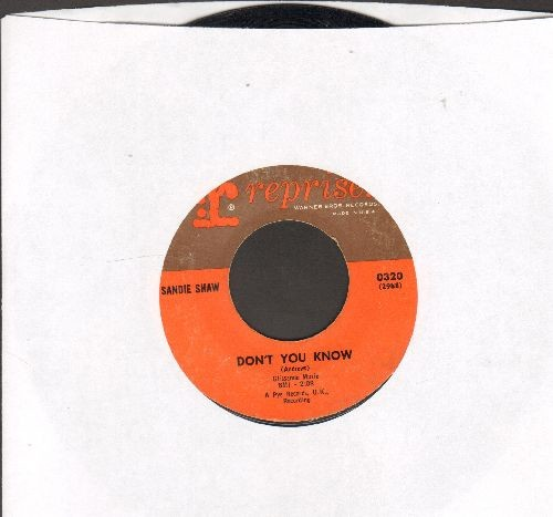 Shaw, Sandie - Don't You Know/(There's) Always Something There To Remind Me (sol) - VG7/ - 45 rpm Records