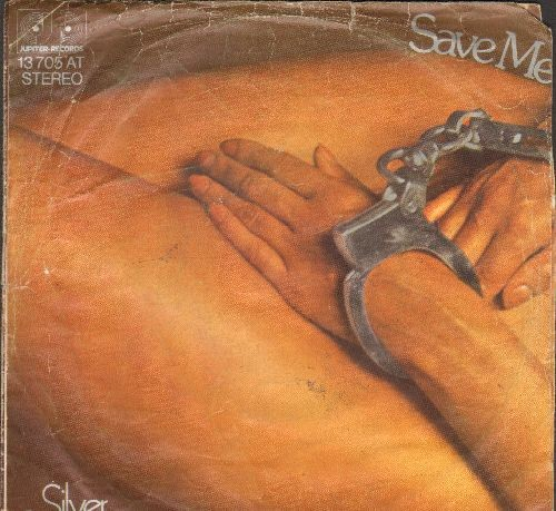 Silver Convention - Save Me/Save Me Again (German Pressing with controversial nude cover art)(minor wol) - EX8/VG6 - 45 rpm Records
