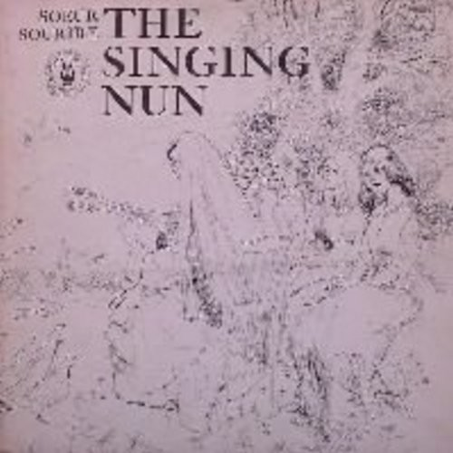 Singing Nun - The Singing Nun: Vinyl LP record Includes the hit Dominique and others, as well as lyrics + translations - NM9/EX8 - LP Records