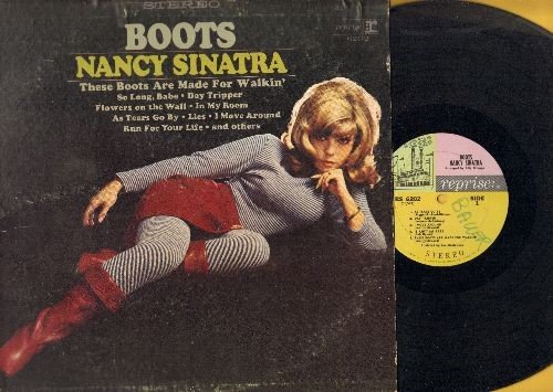 Sinatra, Nancy - Boots: Day Tripper, Flowers On The Wall, It Ain't Me Babe, Lies (Vinyl MONO LP record, wol) - EX8/VG7 - LP Records