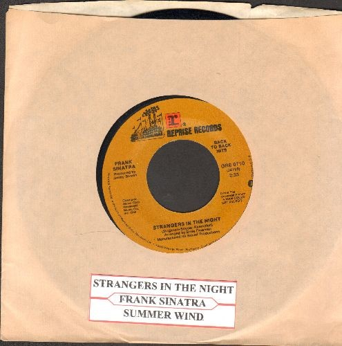 Sinatra, Frank - Strangers In The Night/Summer Wind (authentic-looking doubloe-hit re-issue with juke box label and  company sleeve) - NM9/ - 45 rpm Records