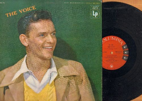 Sinatra, Frank - The Volce: Over The Rainbow, That Old Black Magic, Laura, Fools Rush In, Try A Little Tenderness (vinyl MONO LP record) - NM9/EX8 - LP Records