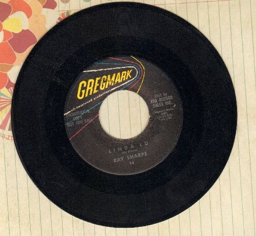 Sharpe, Ray - (The New) Linda Lou/The Bus Song (DJ advance pressing) - EX8/ - 45 rpm Records