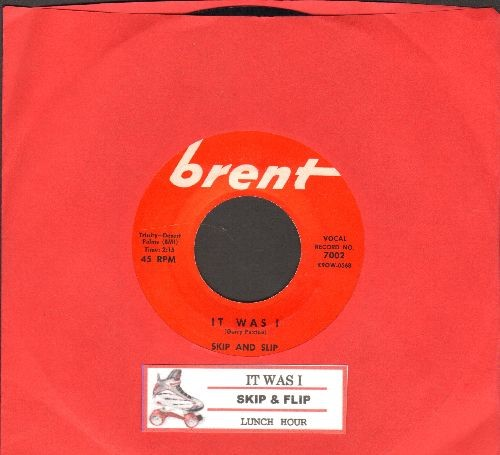Skip & Flip - It Was I/Lunch Hour (MINT condition with juke box label) - M10/ - 45 rpm Records