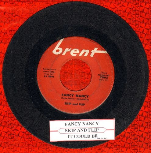 Skip & Flip - Fancy Nancy/It Could Be (with juke box label) - EX8/ - 45 rpm Records