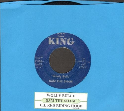 Sam The Sham & The Pharaohs - Wooly Bully/Li'l Red Riding Hood (early double-hit re-issue with juke box label) - EX8/ - 45 rpm Records