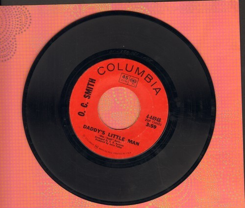 Smith, O. C. - Daddy's Little Man/If I Leave You Now - EX8/ - 45 rpm Records