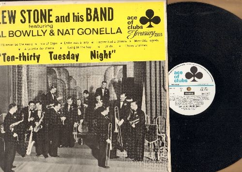 Stone, Lew & His Band - Ten-Thirty Tuesday Night: I'll Never Be The Same, Lazybones, Miss Otis Regrets, Canadian Capers (vinyl MONO LP record, 1963 UK pressing of vintage Jazz recordings0 - NM9/EX8 - LP Records