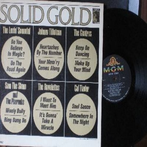 Lovin' Spoonful, Gentrys, Johnny Tillotson, others - Solid Gold: Do You Believe In Magic, Heartaches By The Number, Keep On Dancing, Ring Dang Do (Vinyl MONO LP record) - NM9/EX8 - LP Records