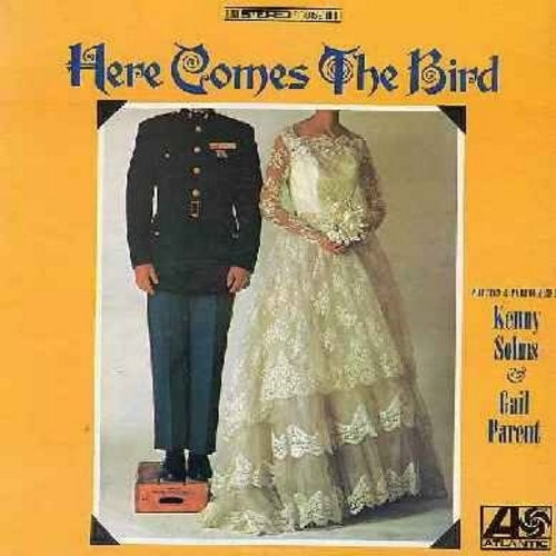 Solms, Kenny & Gail Parent - Here ComesThe Bird - Hilarious Comedy Album inspired by the 1960s President Parodies. This set of routinesfocuses on the extended LBJ Family (Vinyl STEREO LP record) - NM9/NM9 - LP Records