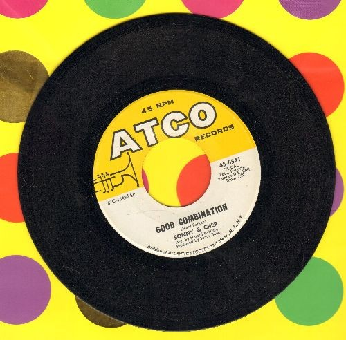 Sonny & Cher - Good Combination/You And Me - NM9/ - 45 rpm Records