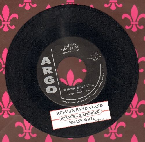 Spencer & Spencer - Russian Band Stand/Brass Wail (with juke box label) - NM9/ - 45 rpm Records