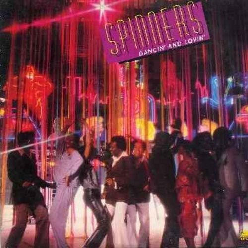 Spinners - Dancin' And Lovin': Body Language (FANTASTIC 6:25 minute Extended Disco version!), Disco Ride, Let's Boogie Let's Dance, Motown-Medley (Vinyl LP record) - NM9/EX8 - LP Records