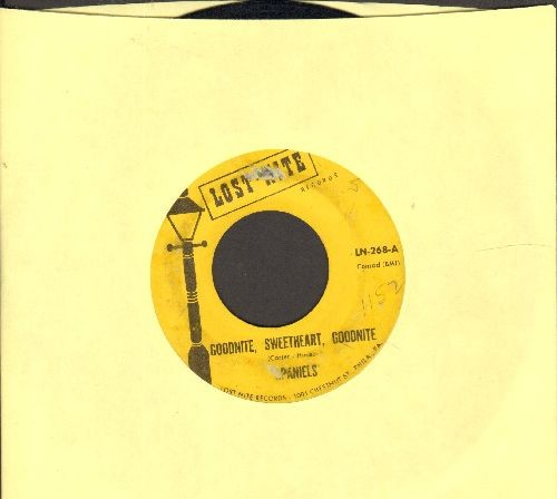 Spaniels - Goodnight, Sweetheart, Goodnight/You Don't Move Me (double-hit re-issue) - VG7/ - 45 rpm Records