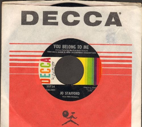 Stafford, Jo - You Belong To Me/St. Louis Blues (with vintage Decca company sleeve) - EX8/ - 45 rpm Records