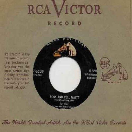 Starr, Kay - Rock And Roll Waltz/I've Changed My Mind A Thousand Times (with vintage RCA company sleeve) - EX8/ - 45 rpm Records