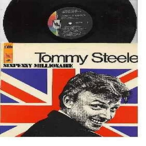 Steele, Tommy - Sixpenny Millionaire: The Girl That I Marry, Hey There!, Everything's Coming Up Roses, Happy Talk, They Say It's Wonderful, If I Were A Bell (Vinyl STEREO LP record) - NM9/EX8 - LP Records