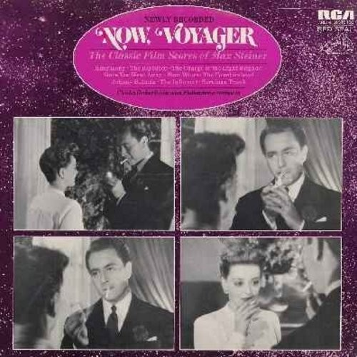 Steiner, Max - Now, Voyager/King Kong/The Informer/Johnny Belinda/The Big Sleep, More! - The Classic Film Scores Of Max Steiner - newly recorded (Vinyl STEREO LP record, Red Seal Label, SEALED, never opened!) - SEALED/SEALED - LP Records