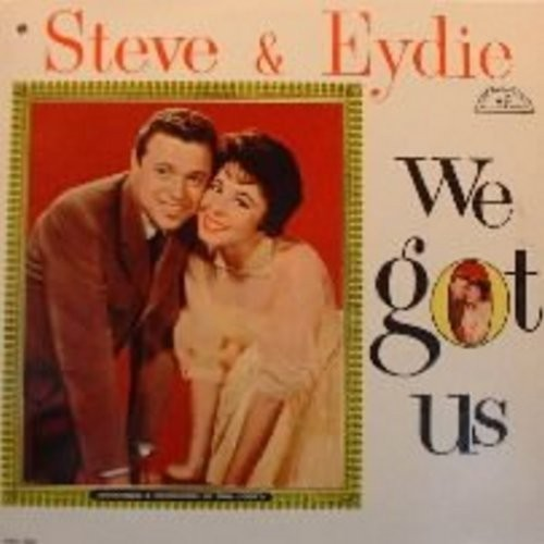 Lawrence, Steve & Eydie Gorme - We Got Us: Side By Side, Cheek To Cheek, Together, I Remember It Well, Baby It's Cold Outside, This Could Be The Start Of Something (Vinyl MONO LP record) - EX8/EX8 - LP Records