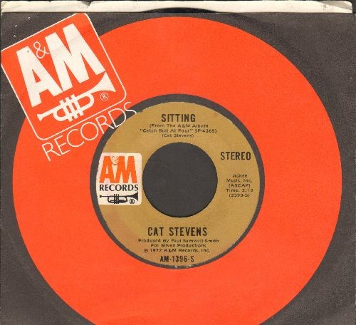 Stevens, Cat - Sitting/Crab Dance (with company sleeve) - EX8/ - 45 rpm Records