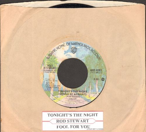 Stewart, Rod - Tonight's The Night/Fool For You - NM9/ - 45 rpm Records
