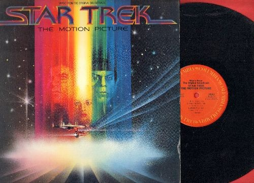 Star Trek - Star Track - The Motion Picture: Music from the Original Soundtrack (vinyl STEREO LP record) - NM9/EX8 - LP Records