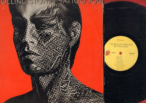 Rolling Stones - Tattoo You: Start Me Up, Hang Fire, Little T & A, Heaven, Waiting On A Friend (vinyl STEREO LP record) - EX8/VG7 - LP Records