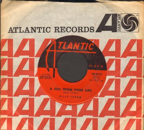 Storm, Billy - Honey Love/A Kiss From Your Lips (with Atlantic company sleeve) - VG7/ - 45 rpm Records