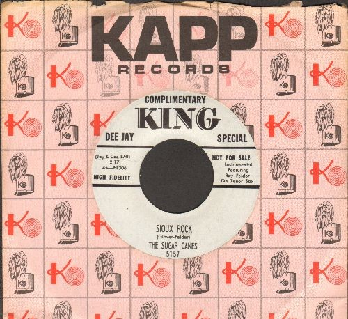 Sugar Canes - Sioux Rock/Poor Boy (DJ advance pressing with Kapp company sleeve) - EX8/ - 45 rpm Records