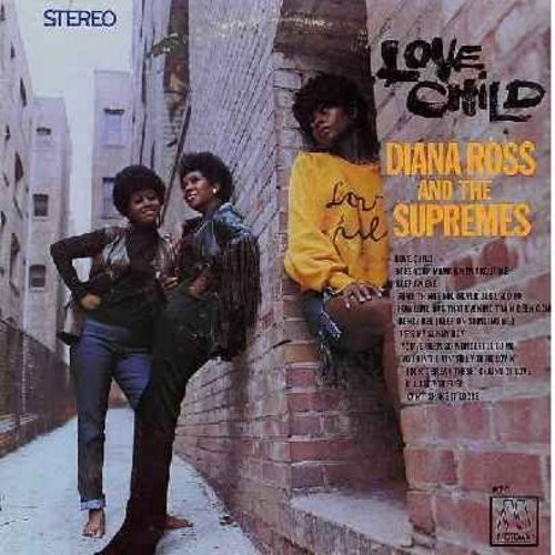 Supremes - Love Child: Honey Bee (Keep On Stinging Me), He's My Sunny Boy, You Ain't Livin' Till You're Lovin', (Don't Break These) Chains Of Love, I'll Set You Free (Vinyl STEREO LP record, 1968 first issue) - EX8/EX8 - LP Records