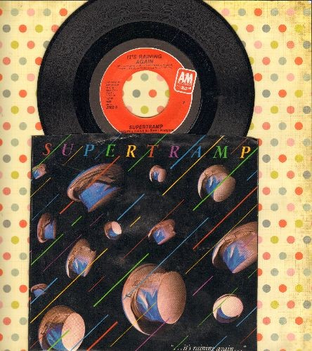 Supertramp - It's Raining Again/Bonnie (with picture sleeve) - NM9/EX8 - 45 rpm Records