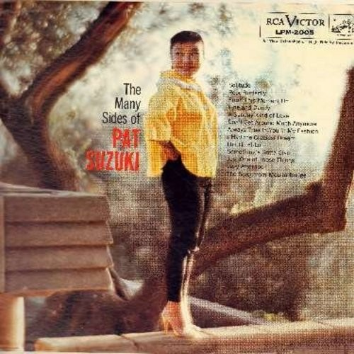 Suzuki, Pat - The Many Sides Of Pat Suzuki: Hi Lili Hi Lo, Something's Gotta Give, A Sunday Kind Of Love, Song From Moulin Rouge, Just One Of Those Things (Vinyl MONO LP record) - NM9/NM9 - LP Records