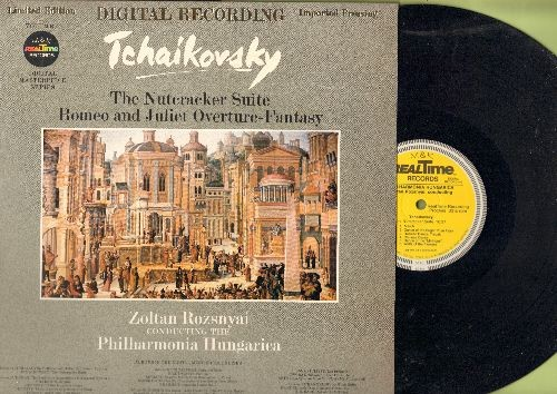Rozsnyai, Zoltan conducting The Philharmonica Hungarica - Tchaikovsky - The Nutcracker Suite + Romeo and Juliet Overture-Fantasy (vinyl Digital LP record, German Pressing) - NM9/NM9 - LP Records