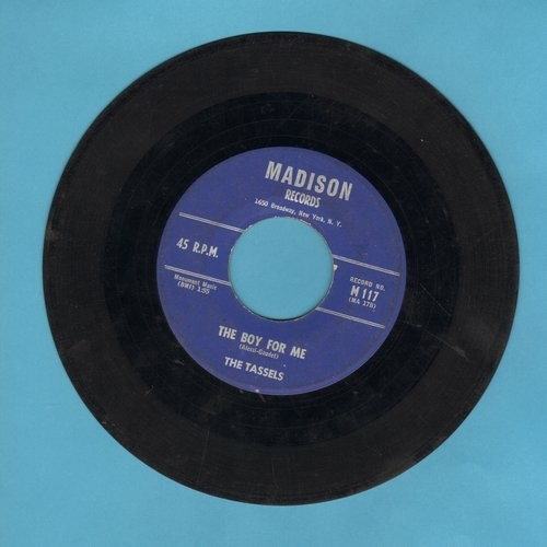 Tassles - The Boy For Me/To A Soldier Boy - G5/ - 45 rpm Records