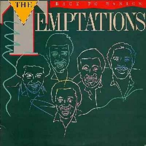 Temptations - Back To Basics: My Busy Body (Get Your Body Busy), Sail Away, Hollywood, Stop The World Right Here (Vinyl LP record, 1981 issue) - NM9/NM9 - LP Records
