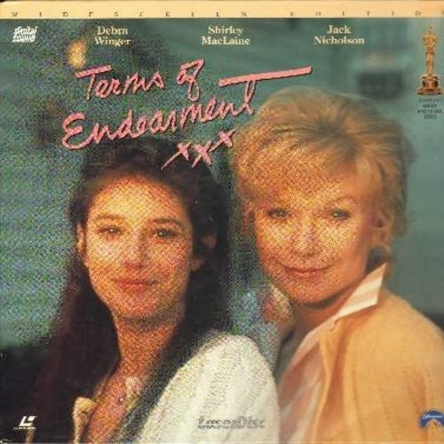 Terms Of Endearment - Terms Of Endearment - The 1983 Best Picture Oscar Winner starring Oscar Winners Shirley Mac Laine and Jack Nicholson - This is a set of 2 LASERDISCS, NOT ANY OTHER KIND OF MEDIA! - NM9/NM9 - LaserDiscs