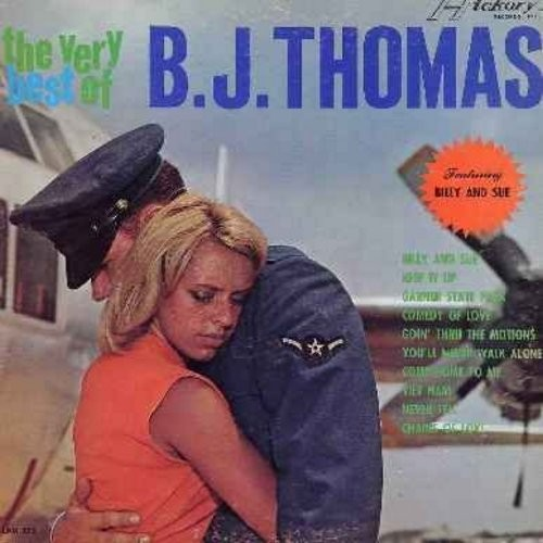 Thomas, B. J. - The Very Best Of: Billy And Sue, Keep It Up, You'll Never Walk Alone, Viet Nam, Chains Of Love (Vinyl MONO LP record) - EX8/EX8 - LP Records