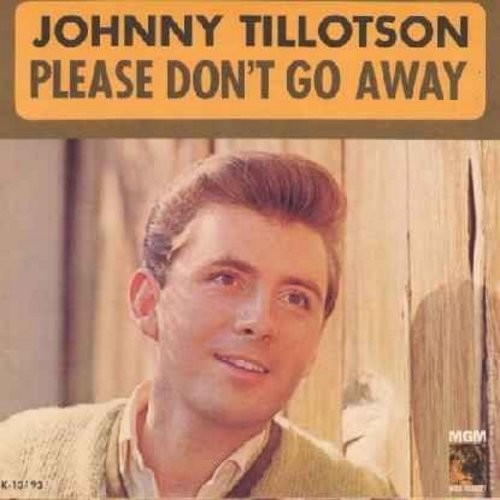 Tillotson, Johnny - Worried Guy/Please Don't Go Away (with picture sleeve) - NM9/NM9 - 45 rpm Records