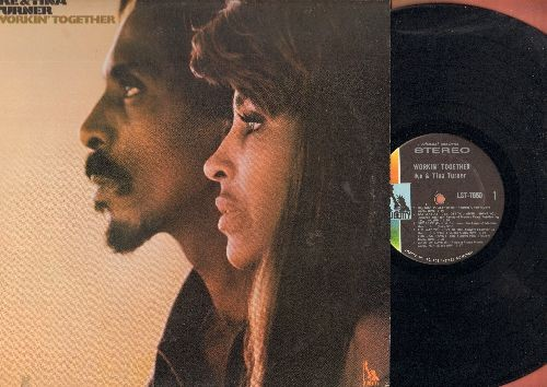 Turner, Ike & Tina - Workin' Together: Proud Mary, Let It Be, Ooh Poo Pah Doo, Get Back, Game Of Love (Vinyl STEREO LP record) - NM9/EX8 - LP Records