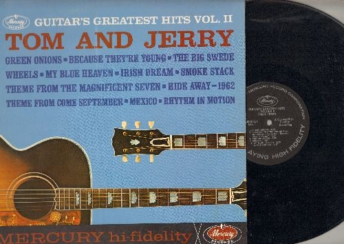 Tom & Jerry - Guitar's Greatest Hits Vol.2: Because They're Young, My Blue Heaven, The Magnificent Seven, Green Onions (vinyl MONO LP record) - NM9/EX8 - LP Records