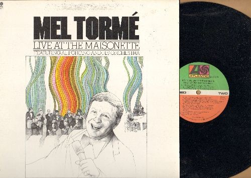 Torme, Mel - Mel Torme Live At The Maisonette: Superstition, (Get Your Kicks On) Route 66, Gershwin Medley (vinyl STEREO LP record) - NM9/NM9 - LP Records