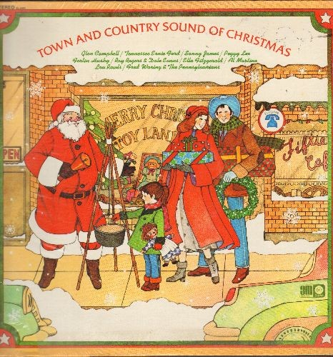 My Christmas Dream.Campbell Glen Ferlin Husky Peggy Lee Others Town Country Sound Of Christmas Winter Wonderland Jingle Bells My Christmas Dream Vinyl Stereo
