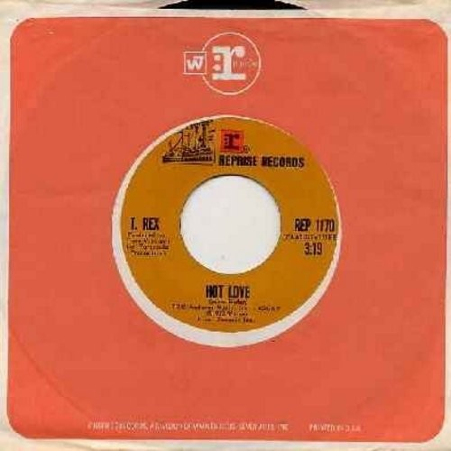 T. Rex - Hot Love/One Inch Rock/Seagull Woman (with Reprise company sleeve) - NM9/ - 45 rpm Records