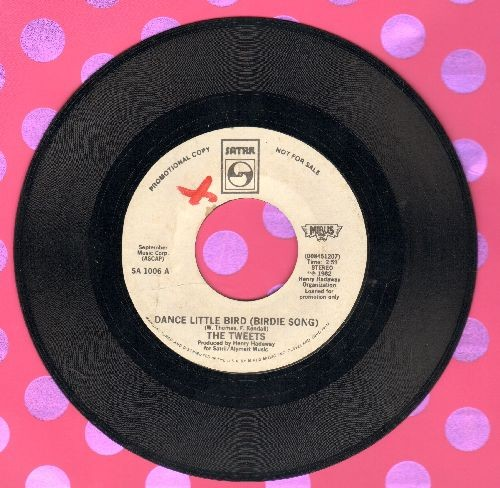 Tweets - Dance Little Bird (Chicken Dance) (PARTY FAVORITE!)/Mellow Terrain (DJ advance pressing) - EX8/ - 45 rpm Records