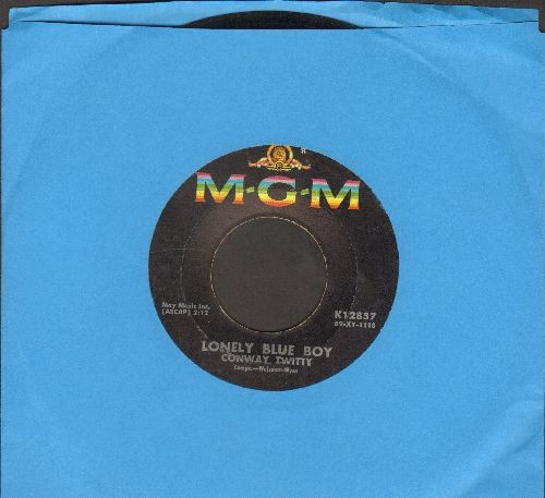 Twitty, Conway - Lonely Blue Boy/Star Spangeled Heaven  - VG7/ - 45 rpm Records
