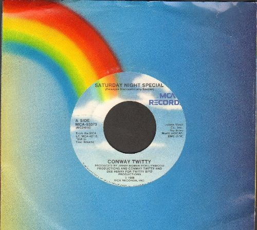 Twitty, Conway - Saturday Night Special/If You Were Mine To Lose (with MCA company sleeve) - EX8/ - 45 rpm Records