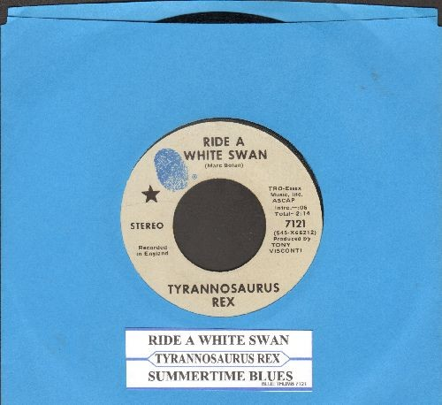 Tyrannosaurus Rex - Summertime Blues/Ride A White Swan (with juke box label) - NM9/ - 45 rpm Records