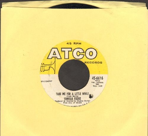 Vanilla Fudge - Take Me For A Little While/Thoughts (bb) - EX8/ - 45 rpm Records
